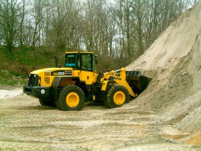 laadgelegenheid-shovel-laadschop-zanddepot